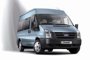 Микроавтобус изнутри